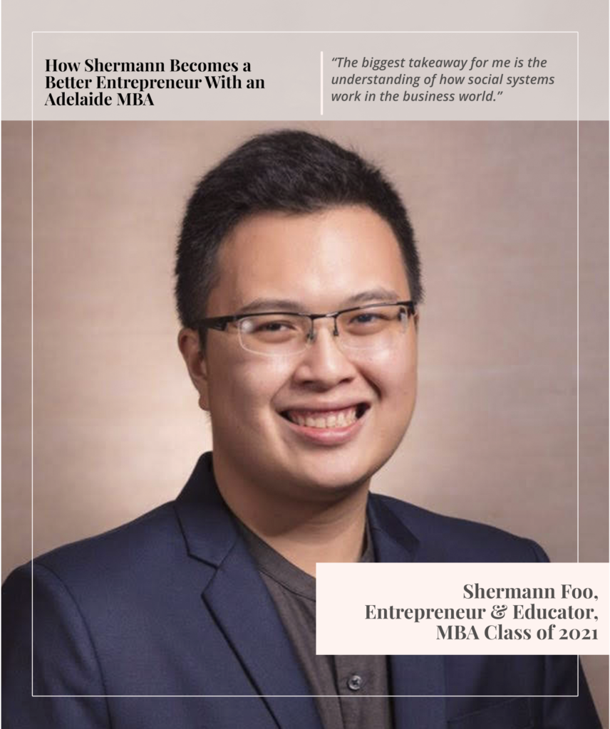 Shermann - MBA Graduate 2021